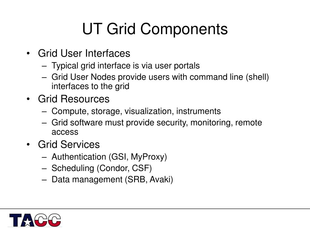 UT Grid Components