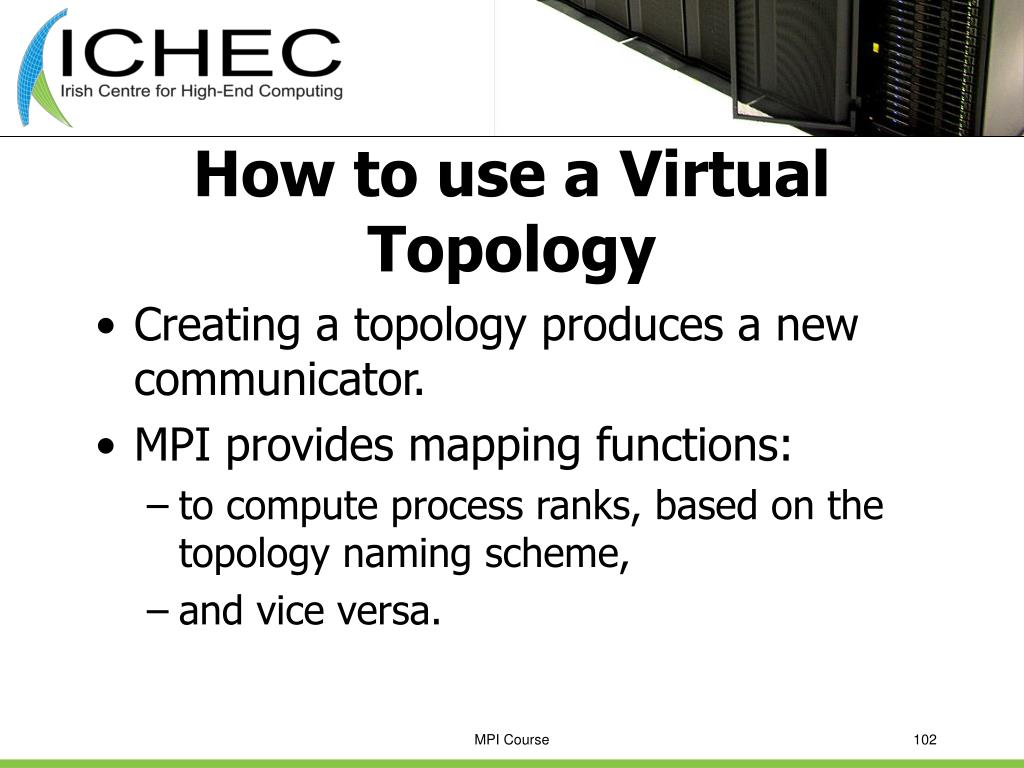 How to use a Virtual Topology