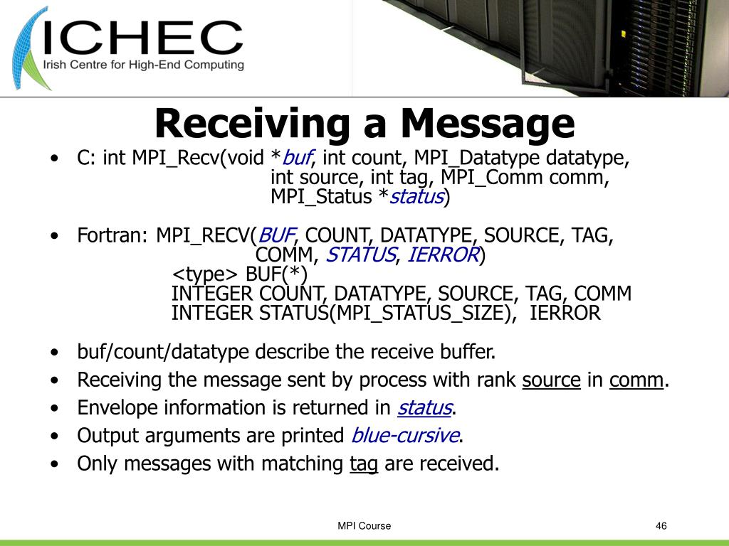 Receiving a Message