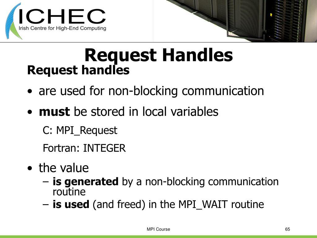 Request Handles