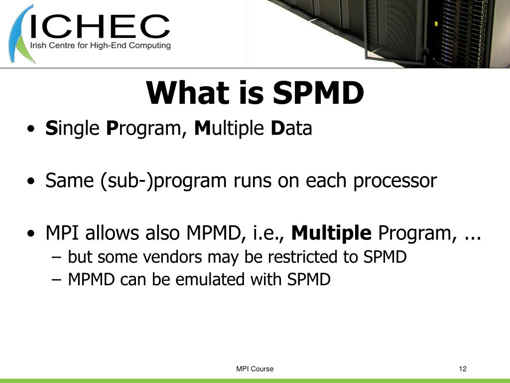 What is SPMD
