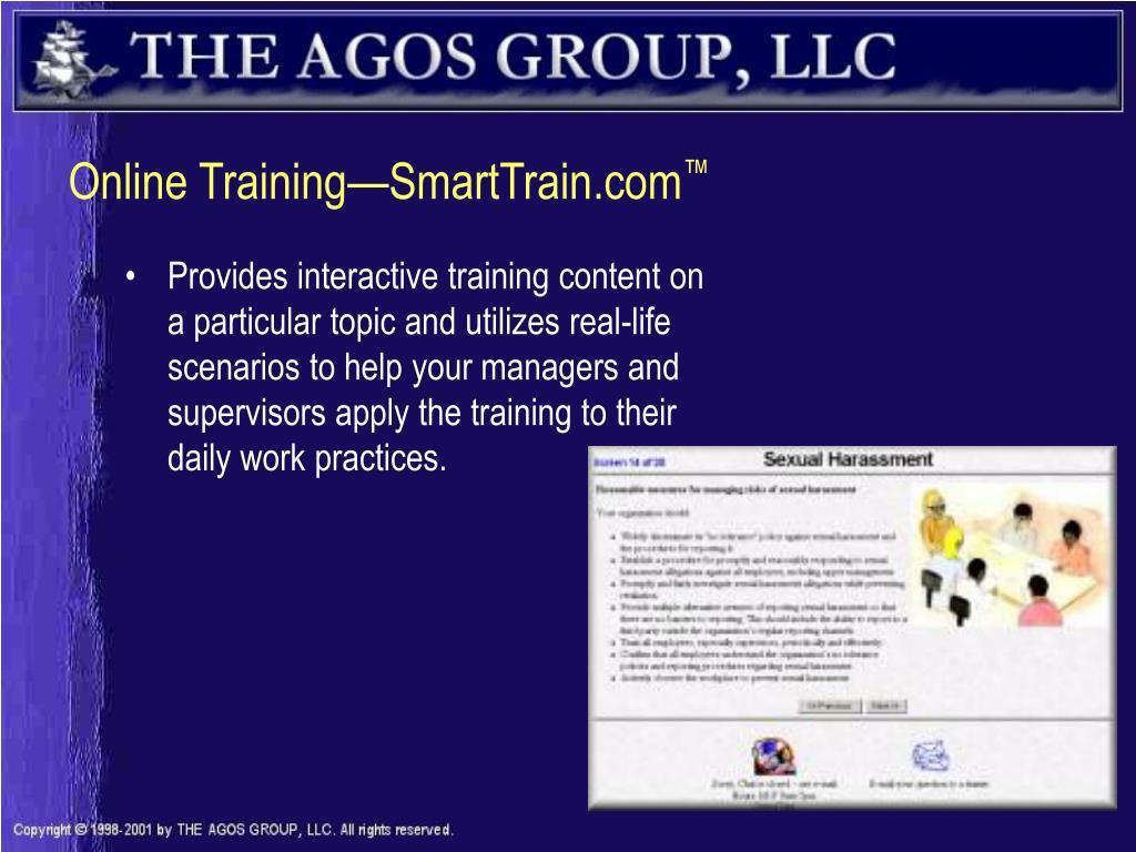 Online Training—SmartTrain.com