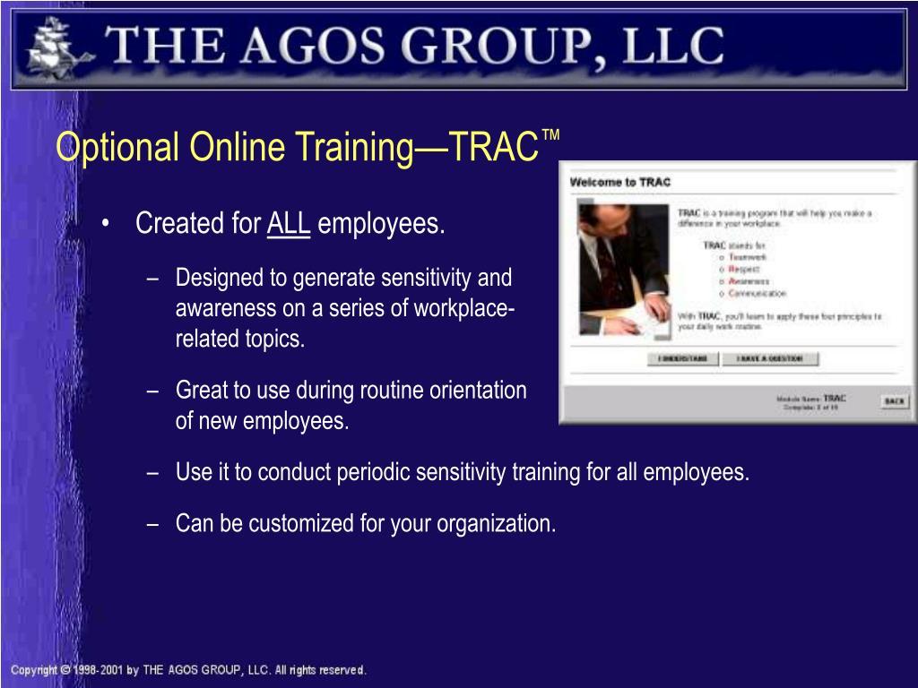 Optional Online Training—TRAC
