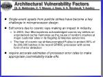 architectural vulnerability factors s s mukherjee c t weaver j emer s k reinhardt t austin