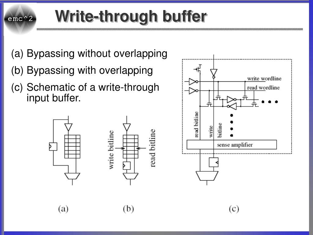 Write-through buffer