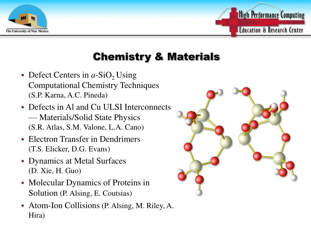 Chemistry & Materials