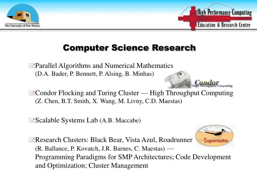 Computer Science Research