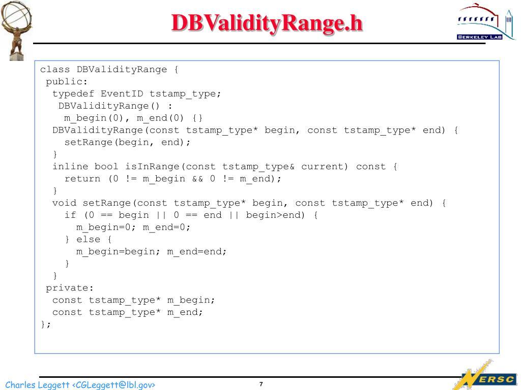 DBValidityRange.h