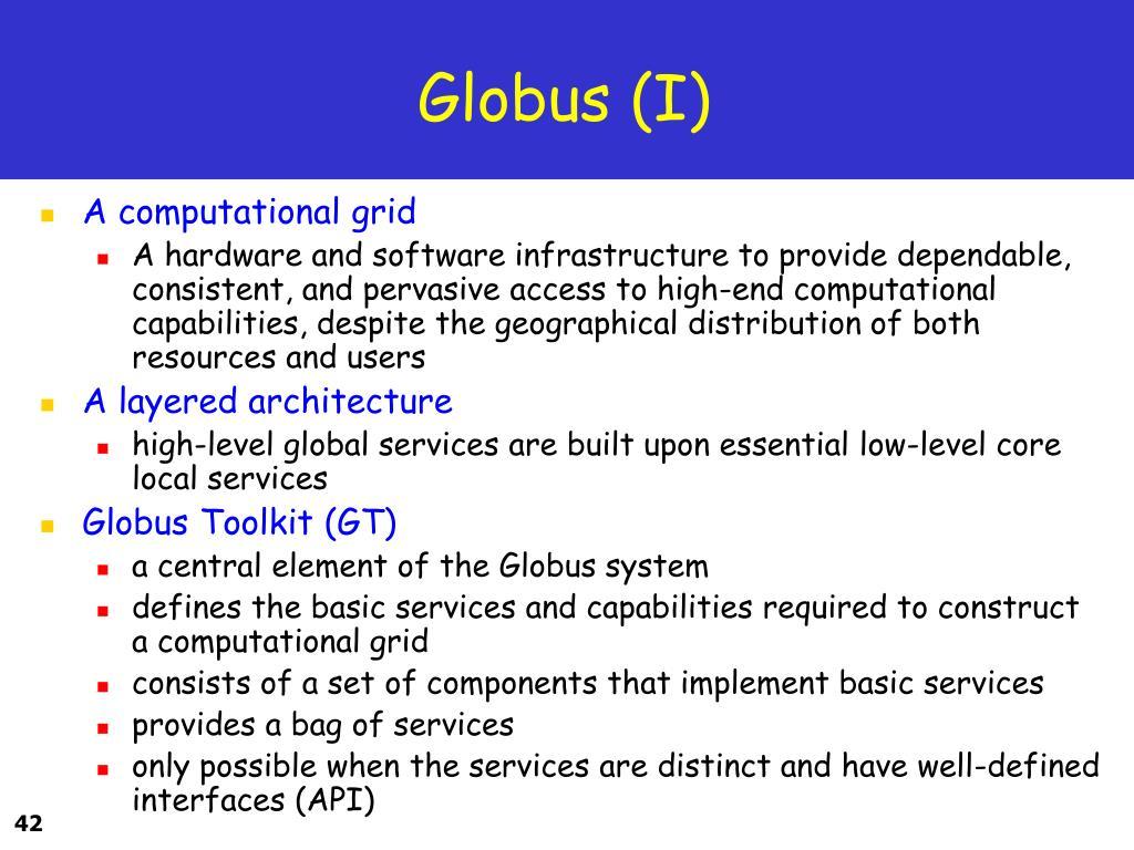 Globus (I)