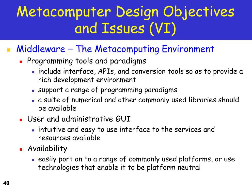 Metacomputer