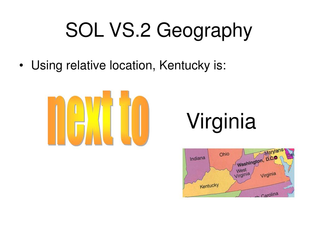 SOL VS.2 Geography