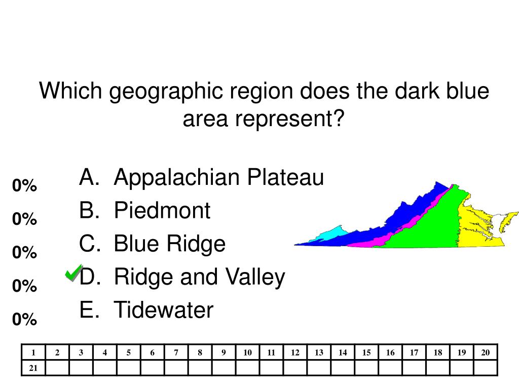 Which geographic region does the dark blue area represent?