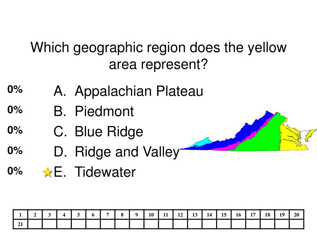 Which geographic region does the yellow area represent?