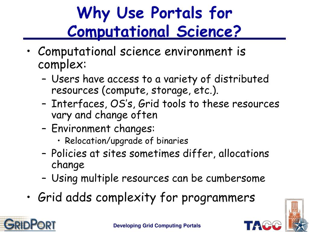 Why Use Portals for