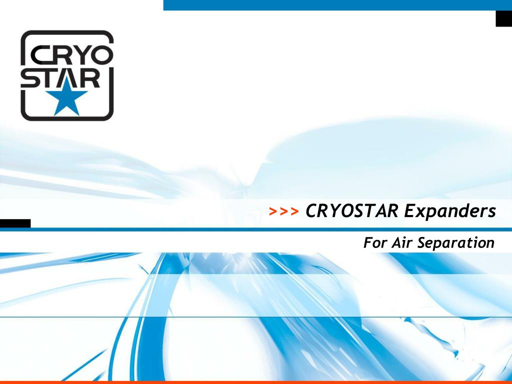 cryostar expanders