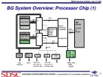 bg system overview processor chip 1