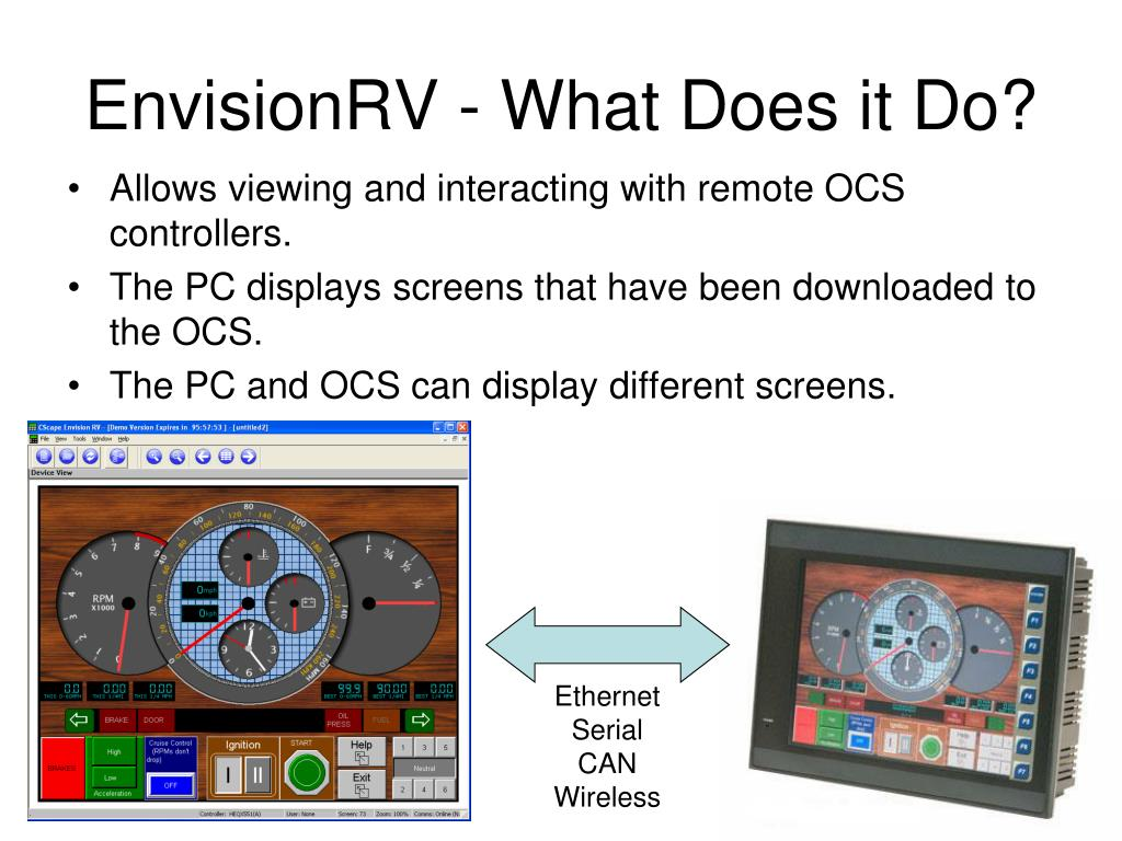 EnvisionRV - What Does it Do?