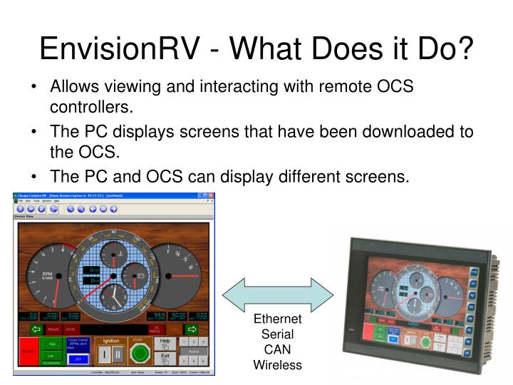 Envisionrv what does it do