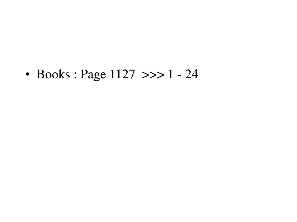 Books : Page 1127  >>> 1 - 24