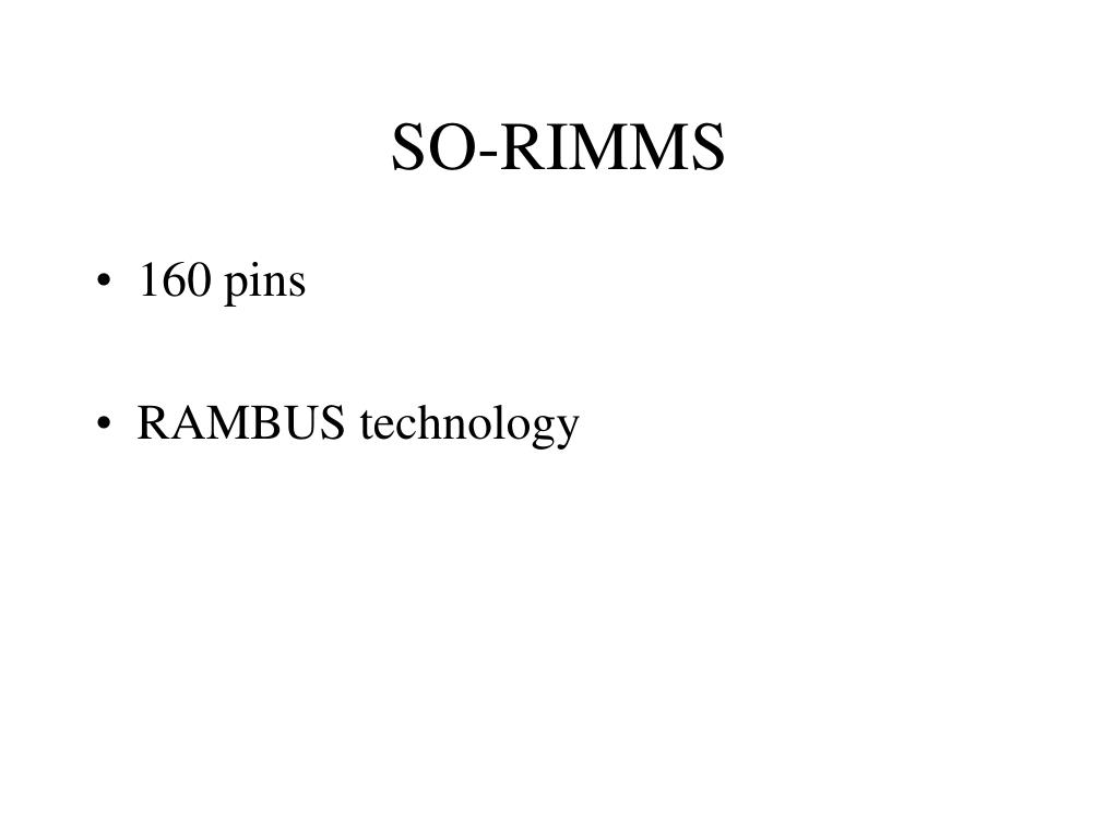 SO-RIMMS