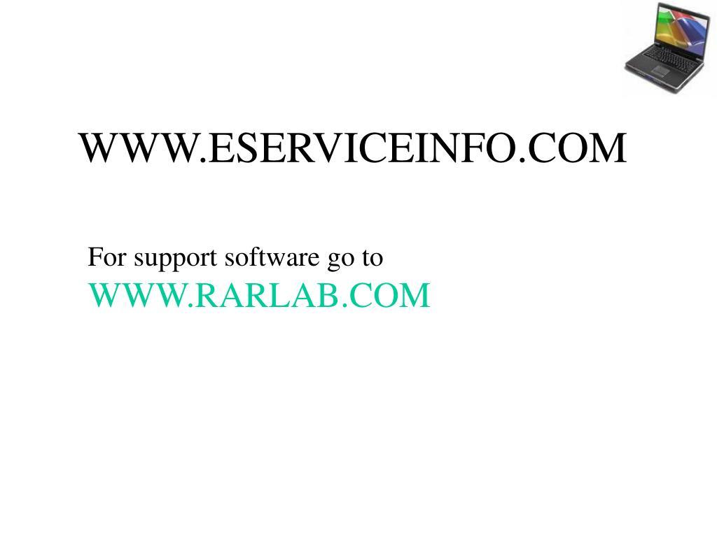 WWW.ESERVICEINFO.COM