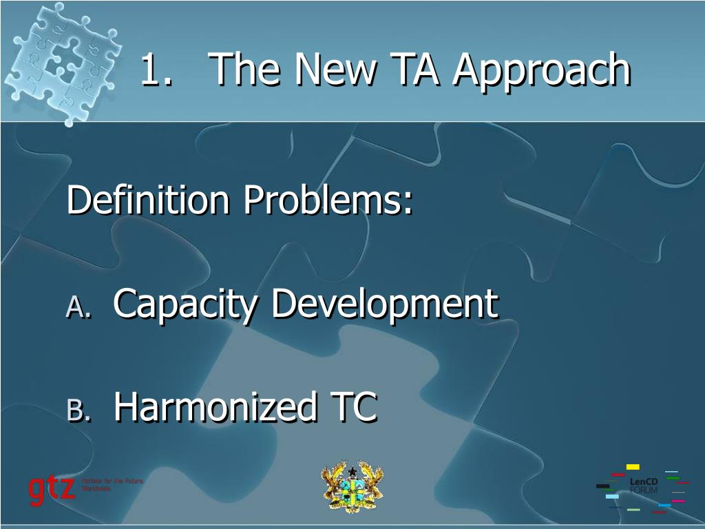1.The New TA Approach
