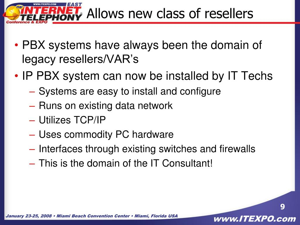 Allows new class of resellers