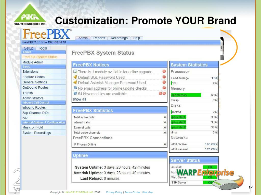 Customization: Promote YOUR Brand