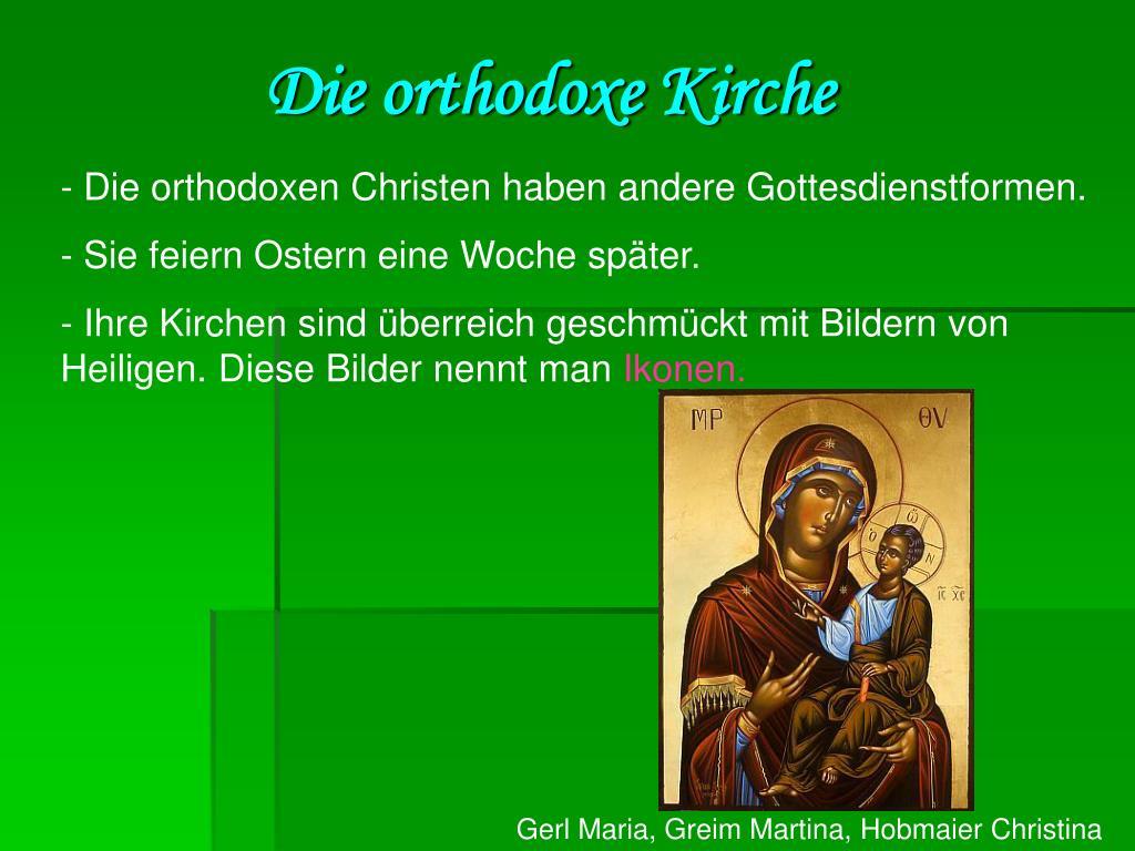 Die orthodoxe Kirche