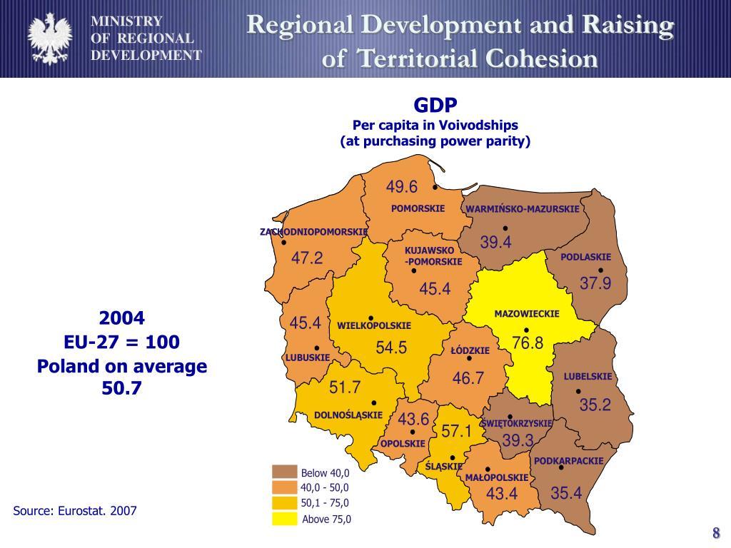 Regional Development and Raising