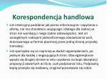 korespondencja handlowa14