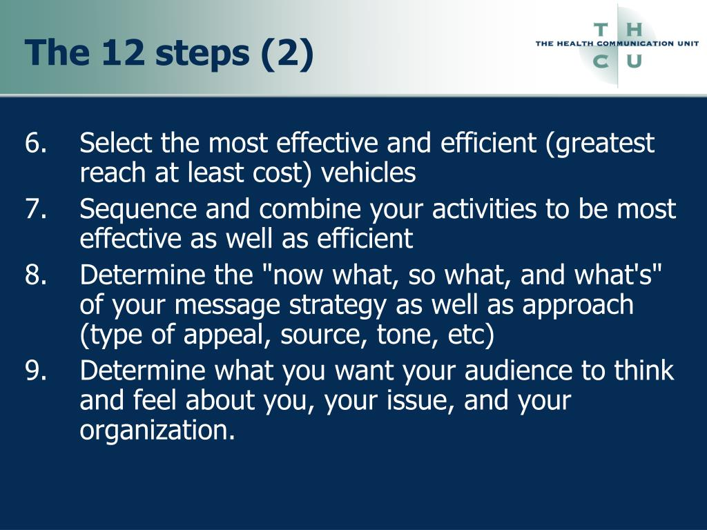 The 12 steps (2)