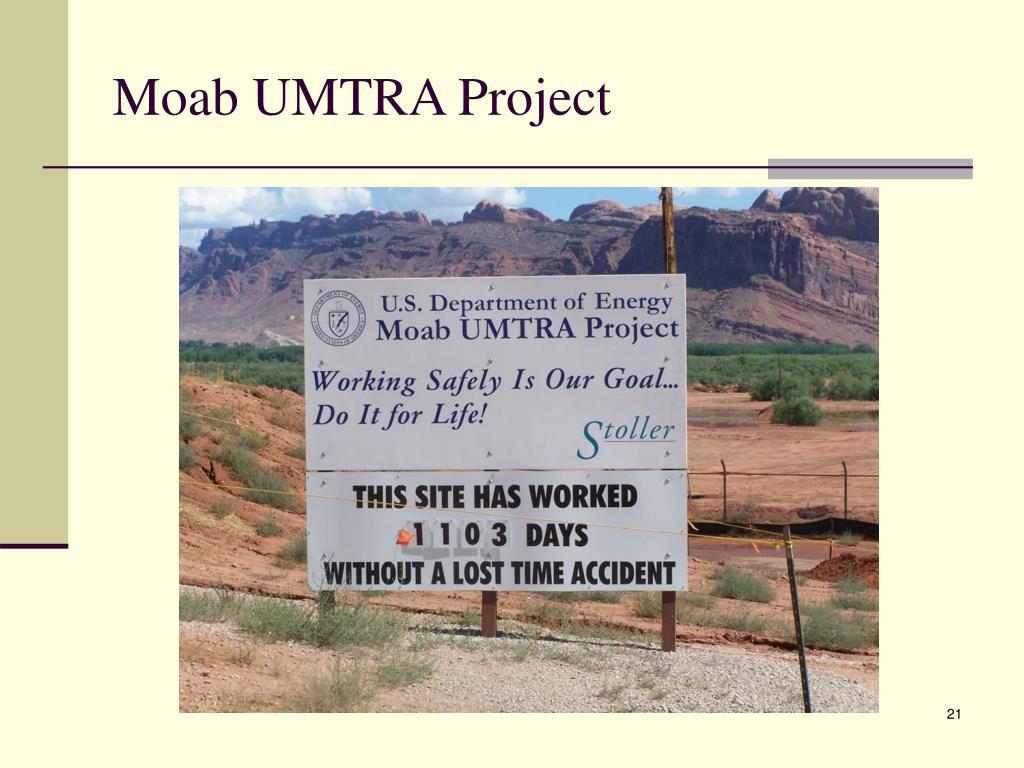 Moab UMTRA Project