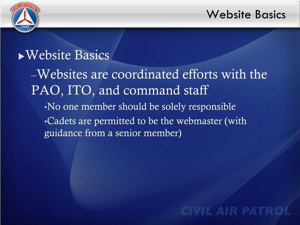 Website Basics