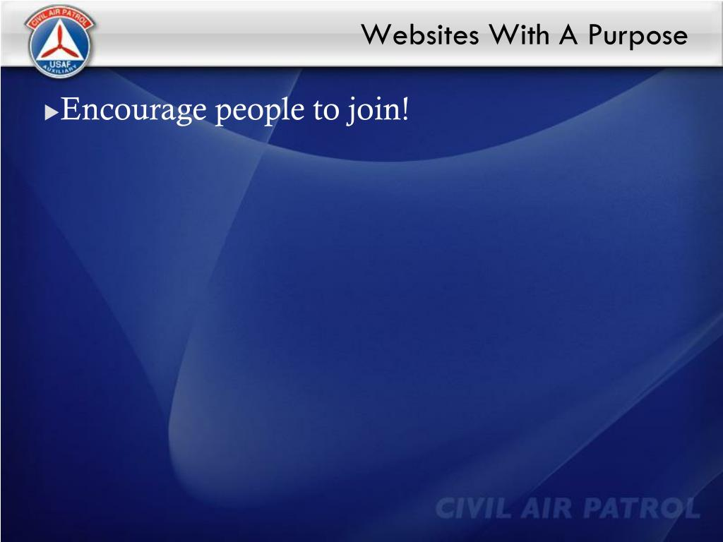 Websites With A Purpose