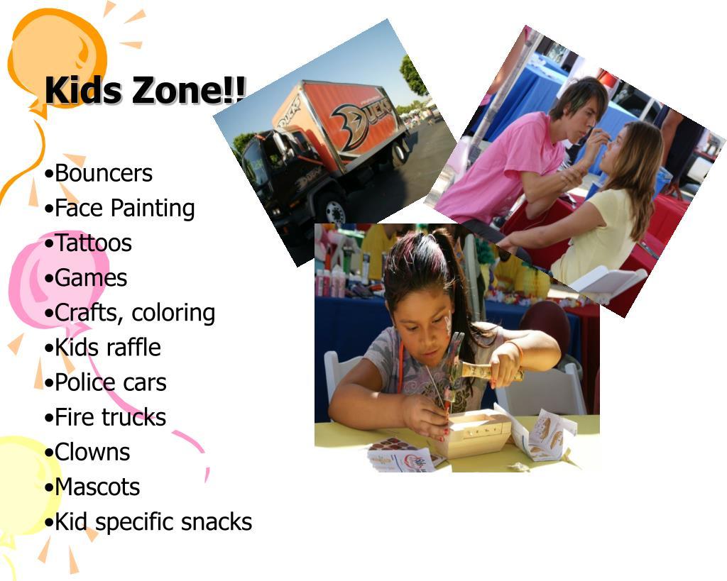 Kids Zone!!