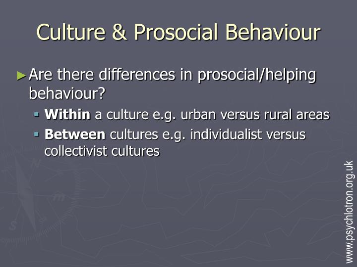 Culture prosocial behaviour l.jpg