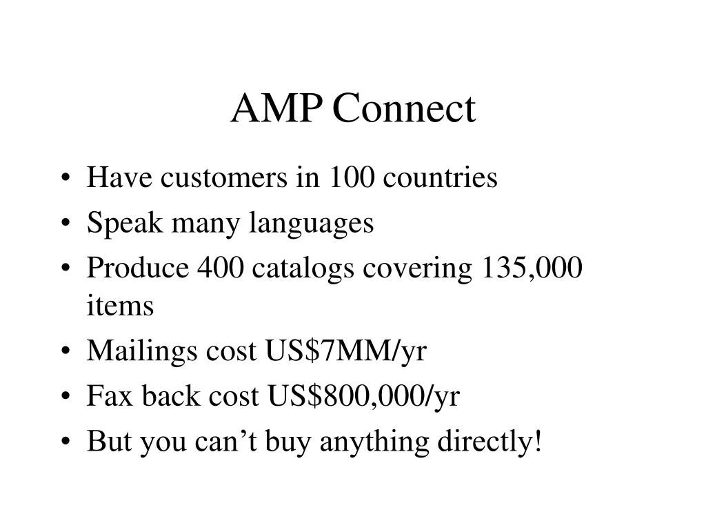 AMP Connect