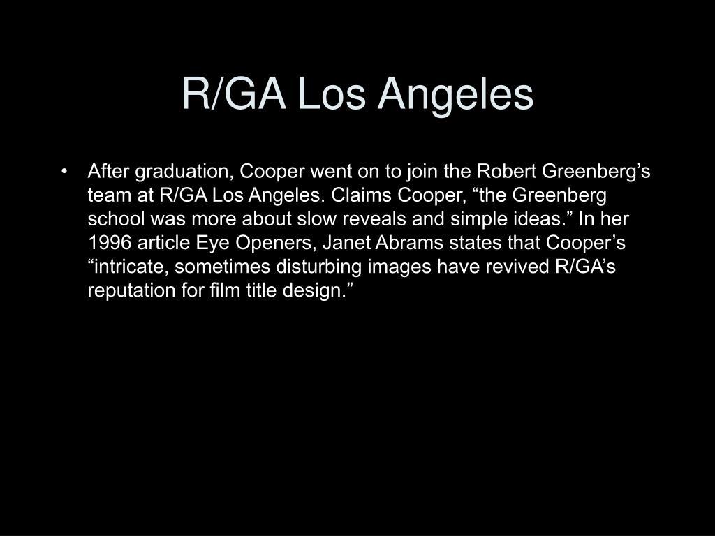 R/GA Los Angeles