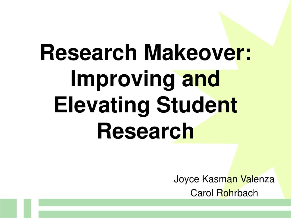 Research Makeover: