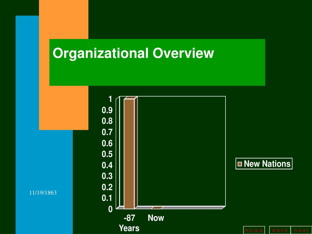 Organizational Overview