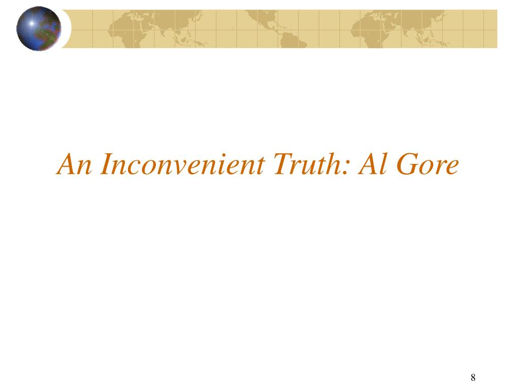 An Inconvenient Truth: Al Gore
