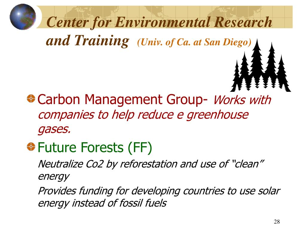 Center for Environmental Research and Training