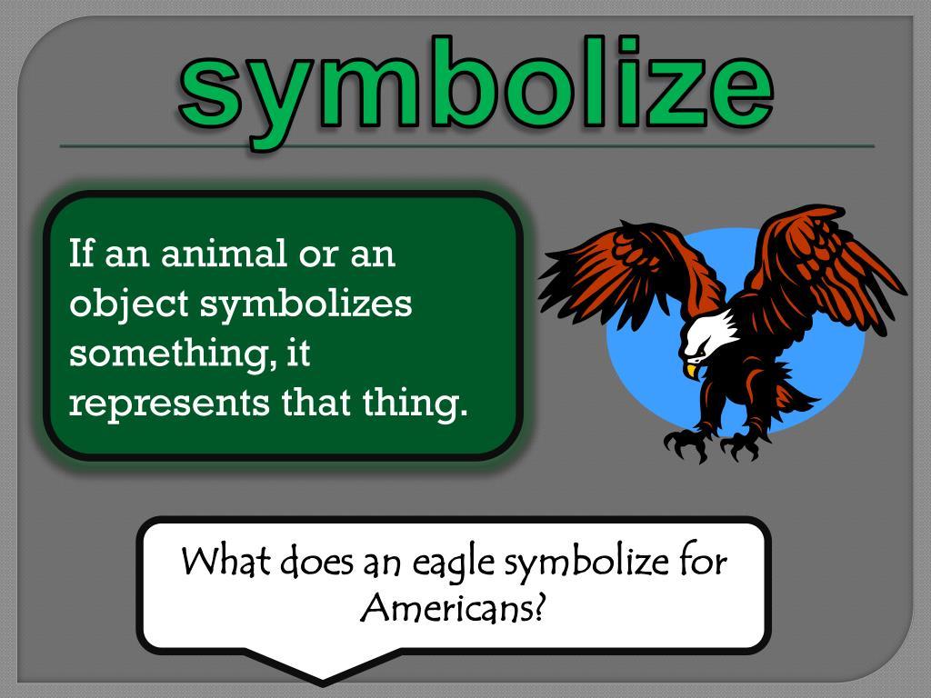 symbolize