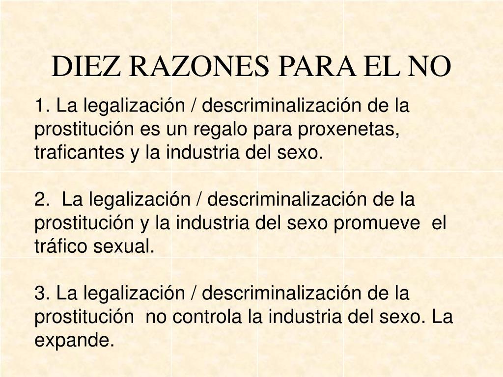 DIEZ RAZONES PARA EL NO