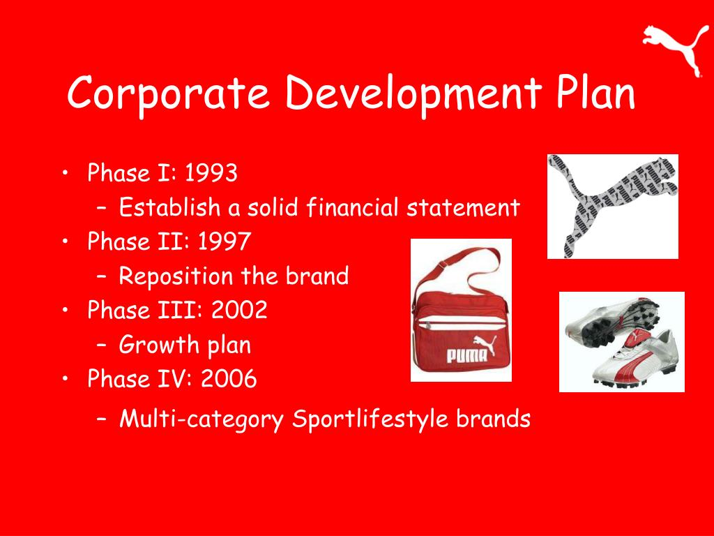 Corporate Development Plan