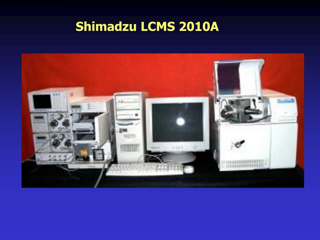 Shimadzu LCMS 2010A