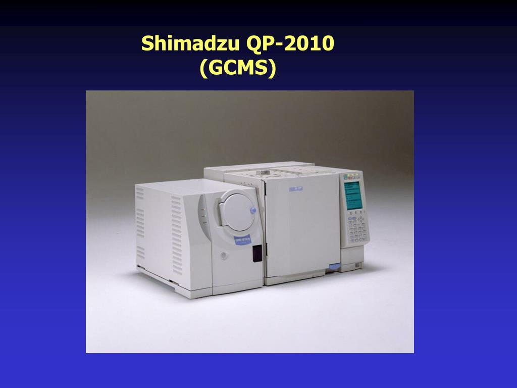 Shimadzu QP-2010