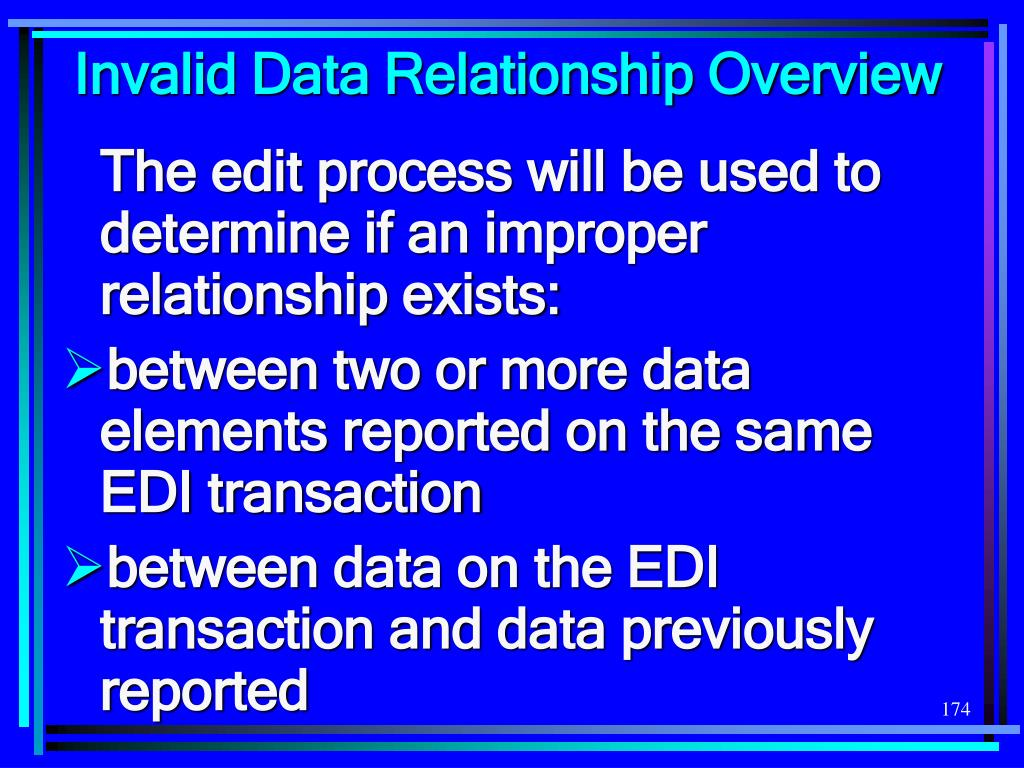 Invalid Data Relationship Overview