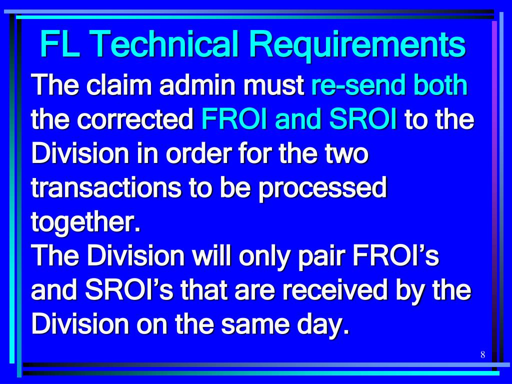 FL Technical Requirements